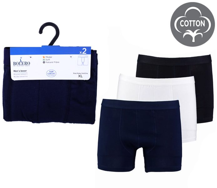Men Boxers 2 Pieces Pack – BU101