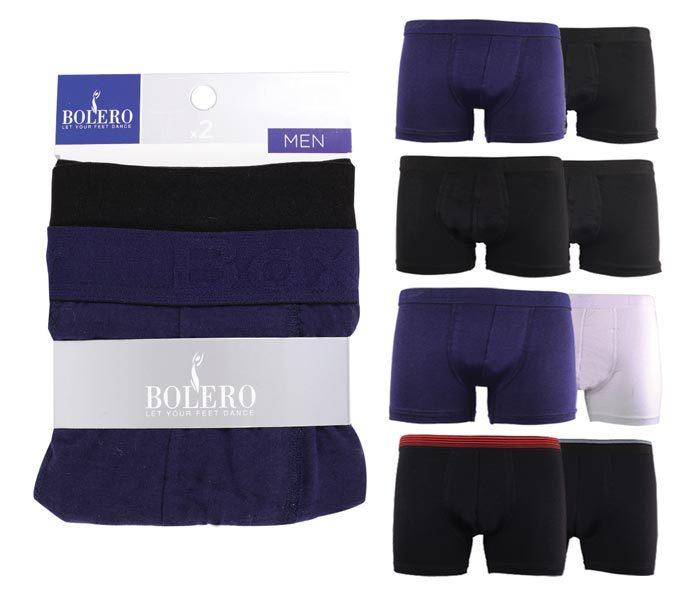 Men Boxers 2 Pieces Pack – BU101