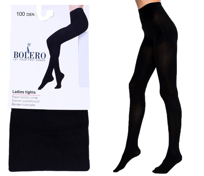 100D Woman Micro Pantyhoses Plain – BP204