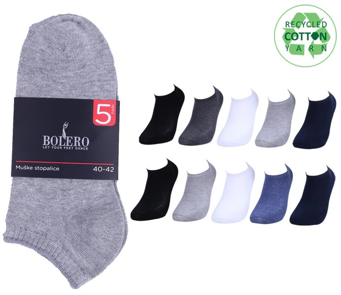 Basic Short Socks 5 Pack – BM235