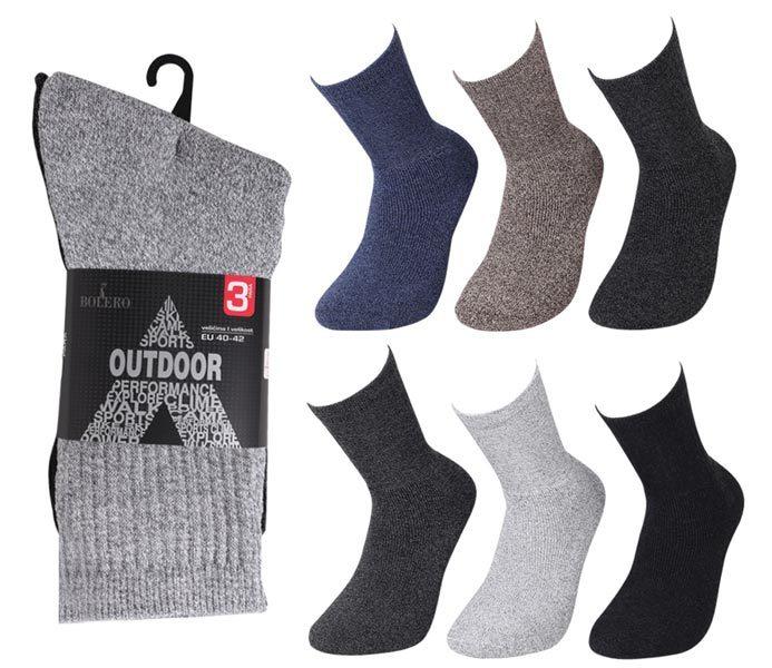 Budget Boot Socks 3 Pack – BM414