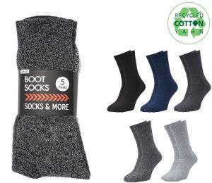 Budget Boot Socks 5 Pack - BM414