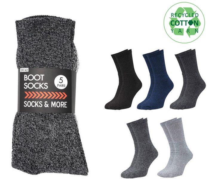 Budget Boot Socks 5 Pack – BM414