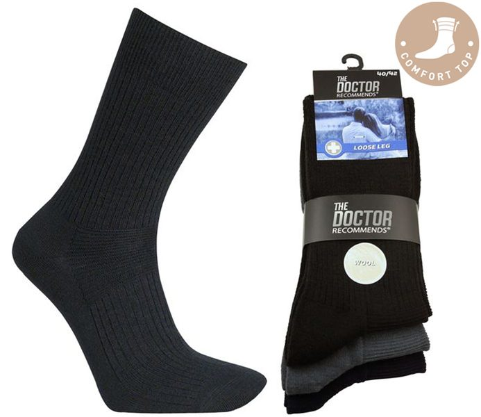 Comfort Top Wool Socks – BM463