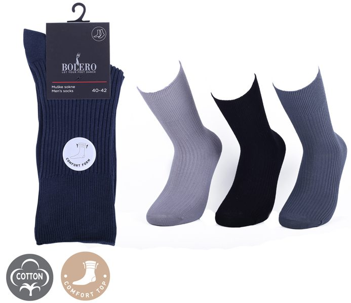 Diabetic Socks 100% Coton – BM253