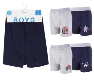 Girls Slips 2 Piece Pack & Boys Boxers 1 Piece Pack - BU301