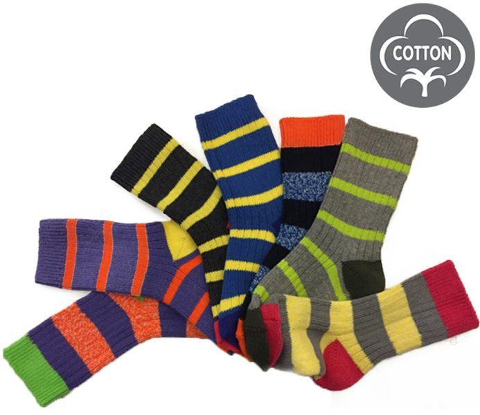 Kids Color Boot Socks – BK836