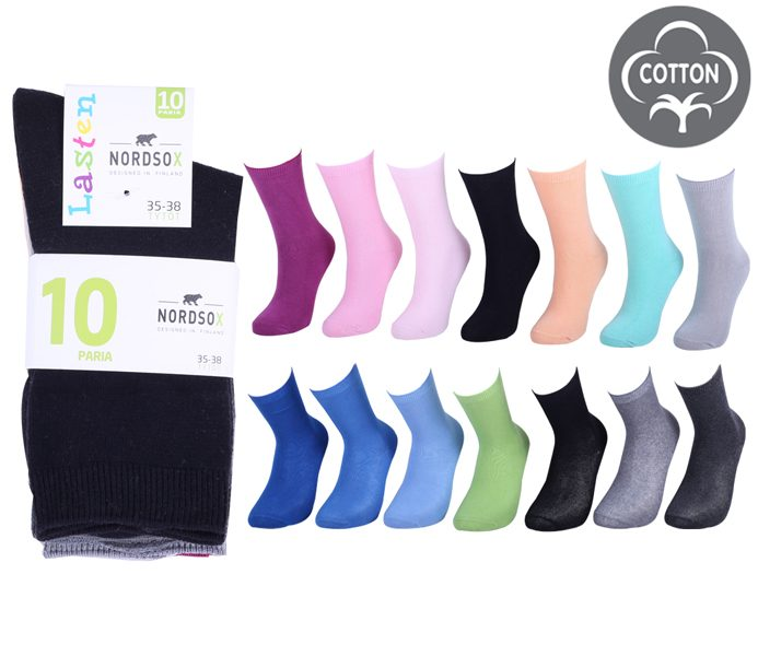 Kids Socks 10 Pack – BK824