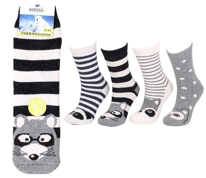 Kids Thermo Wool Socks – BK834