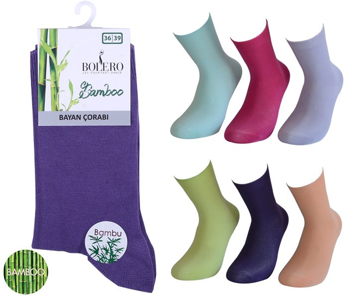 Ladies Bamboo Socks 2 Pack – BW680