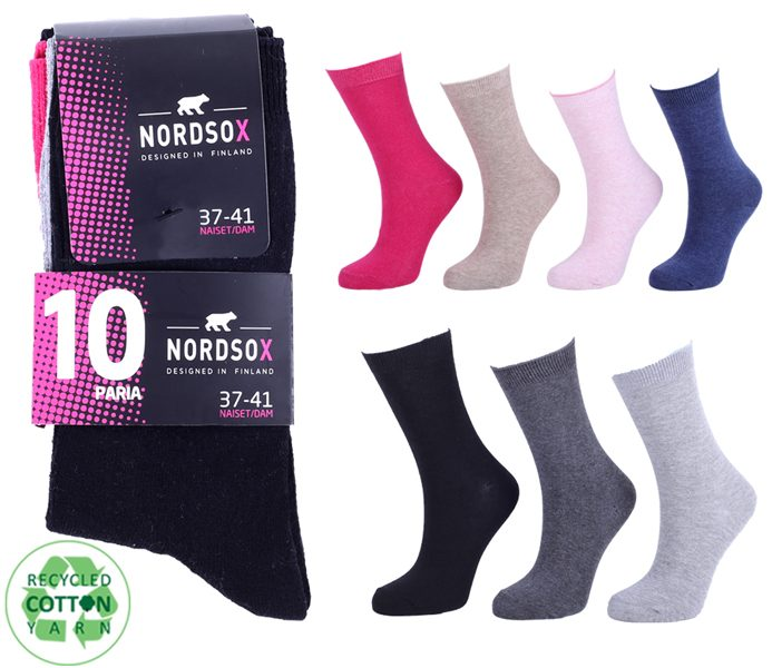 Ladies Basic Socks 10 Pack – BW610