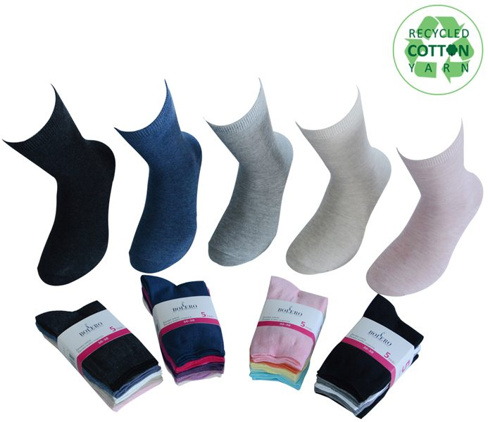 Ladies Basic Socks 5 Pack – BW615