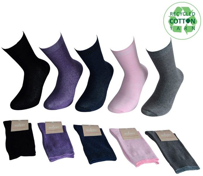 Ladies Basic Socks – BW611