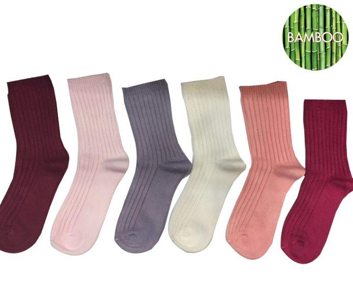 Ladies Extra Thıck Bamboo Socks – BW685