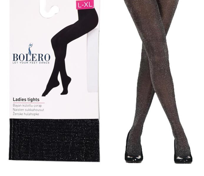 Woman Glitter Lurex Pantyhoses 40D – BP211