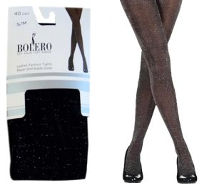 Ladies Glitter Lurex Pantyhoses 40D – BP211
