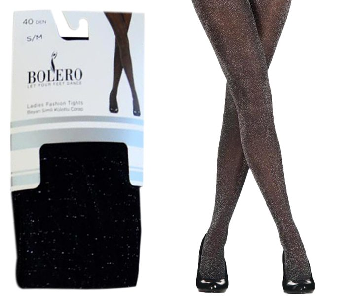 Ladies Glitter Lurex Pantyhoses 40D – BP211