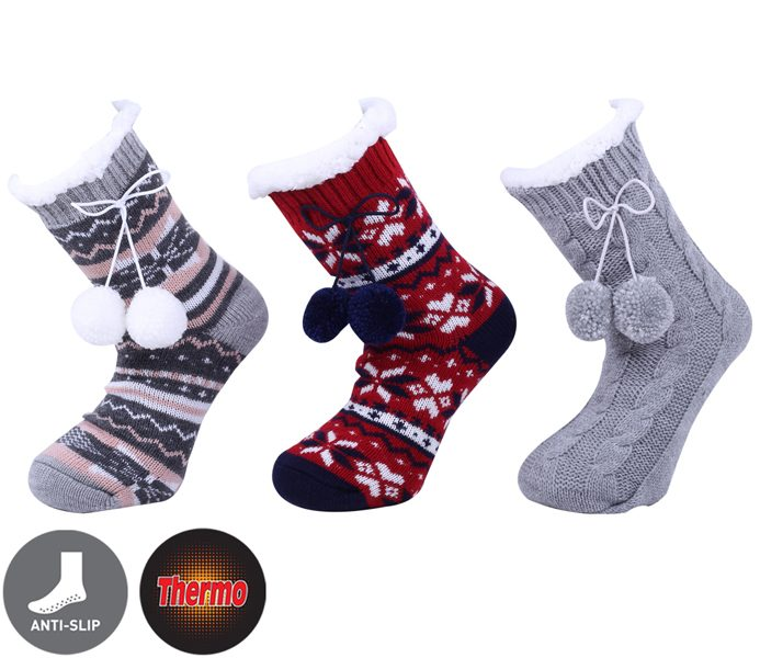 d60d9eb35efef Ladies Polar Fleece Socks - BM428 - Bolerosocks.com