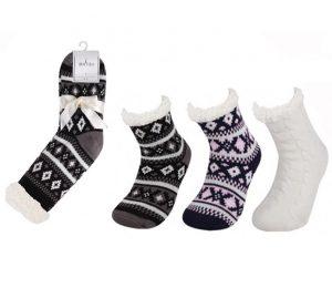 Ladies Polar Fleece Socks - BW428