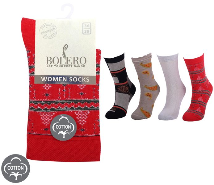 Ladies Premium Socks 200 Needle – BW641