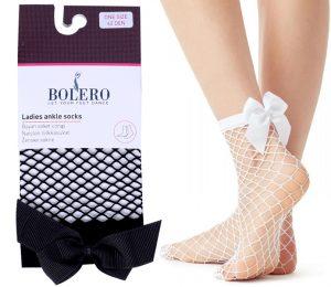 Woman Ribbon Fishnet Socks – BP319