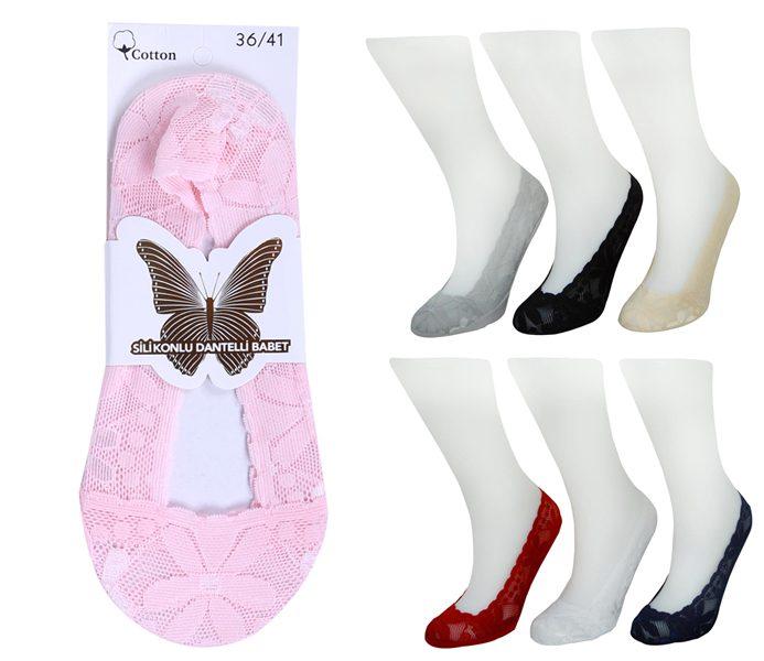 Ladies Laced Footless Jacquard – BP3020