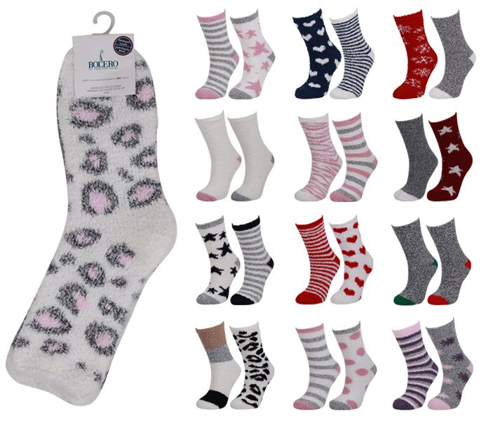 Ladies Soft Home Socks 2 Pack – BW643