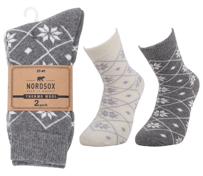 Ladies Thermo Wool Socks 2 Pack – BW725
