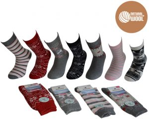Ladies Thermo Wool Socks - BW725