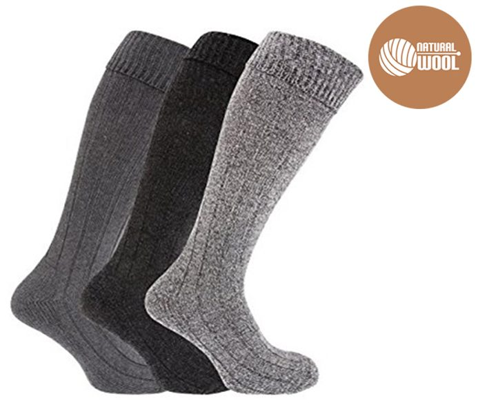 Ladies Wool Knee-Highs – BW450