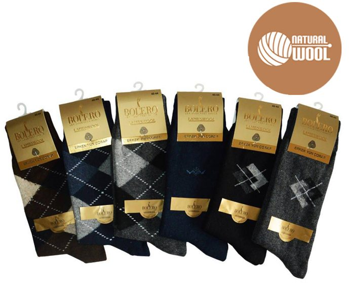 Men Casual Lambswool Socks – BM462