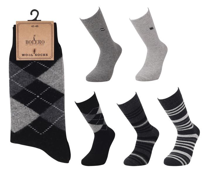 Men Casual Wool Socks – BM462