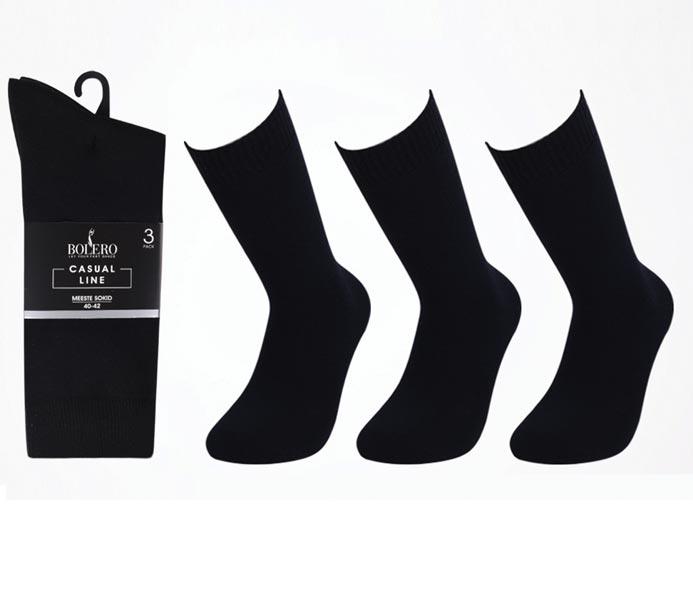 Lambretta Mens 3 Pair Pack of Black//Orange Retro Socks