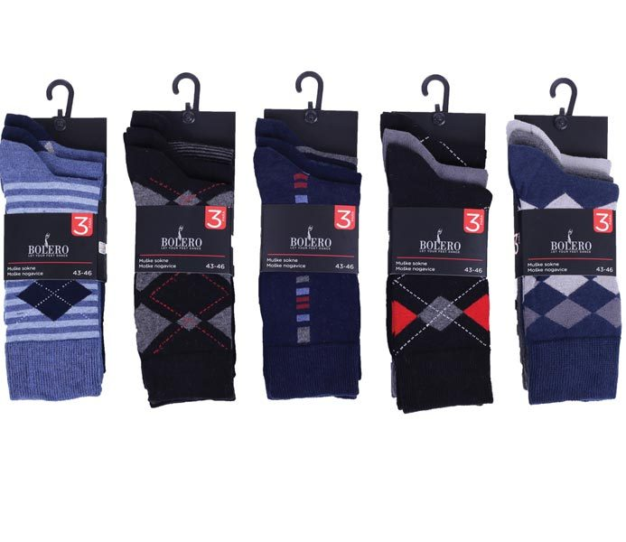 Men Desing Socks 3 Pack – BM223
