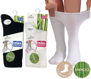 Men/Ladies Bamboo Relax Socks - BM283