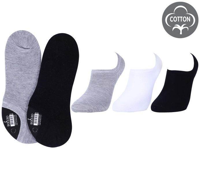 Men /Ladies No Show Socks 3 Pack – BM257