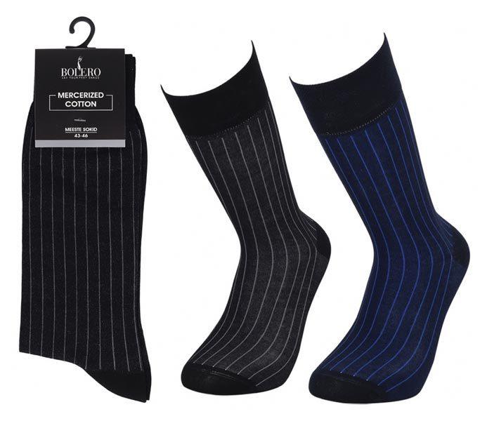 Men Mercerized Socks 200 Needle – BM274