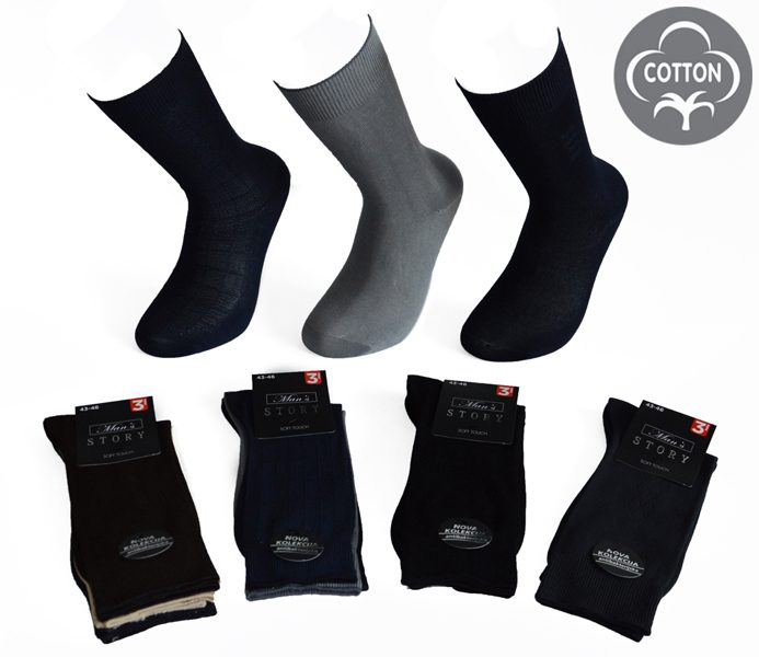 Men Summer Socks 3 Pack – BM273