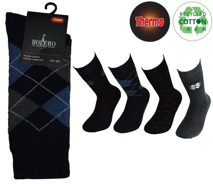 Men Thermo Cotton Socks – BM446