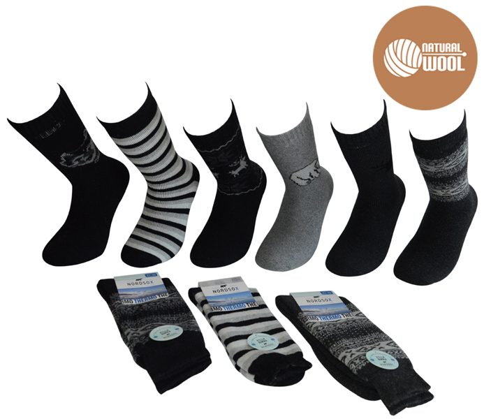 Men Thermo Wool Socks – BM425