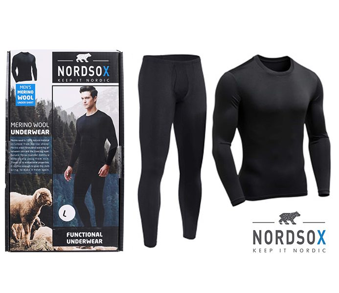 Mens Wool Undersets – BU212