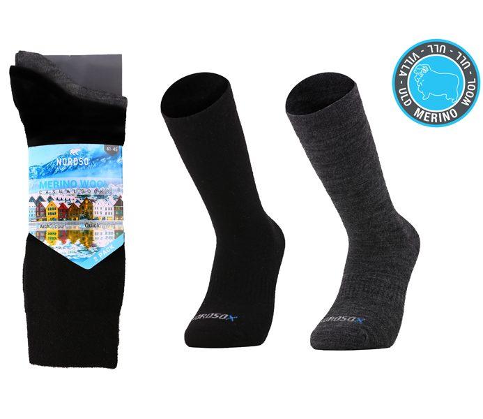 Merino Wool Casual Socks 2 Pack – BM461