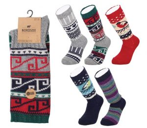 Nordic Folk Socks - BW642