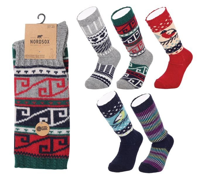 Nordic Folk Socks – BW642