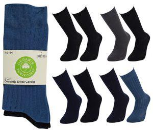 Organic Cotton Socks 2 Pack - BM258
