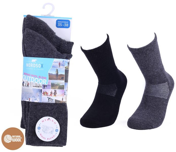 Outdoor Wool Socks 2 Pack – BM426
