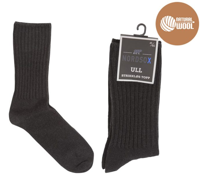 Ribed Wool Rich Socks – BM449
