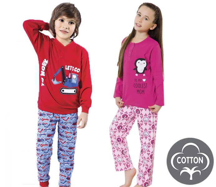 Small Girls & Boys Pyjamas – BU311
