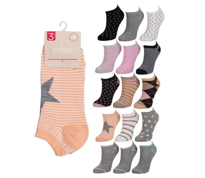 Woman Short Socks 3 Pack – BW633
