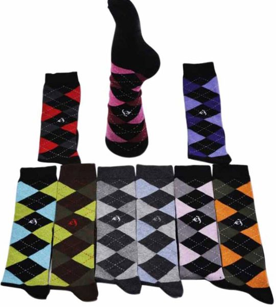 Argyle Knee High Socks – BW535